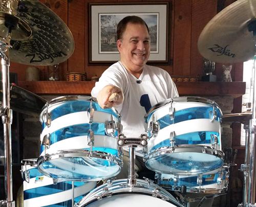 bernie oravec drummer penn state tailgate drums zip 168